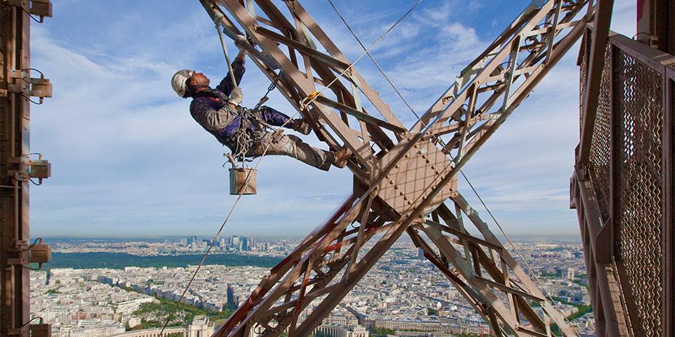 Eiffeltoren (Beeld: Stephane Compoint / Bureau233)