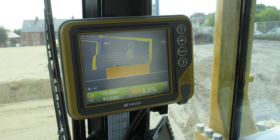 Topcon 3D GPS Sturing
