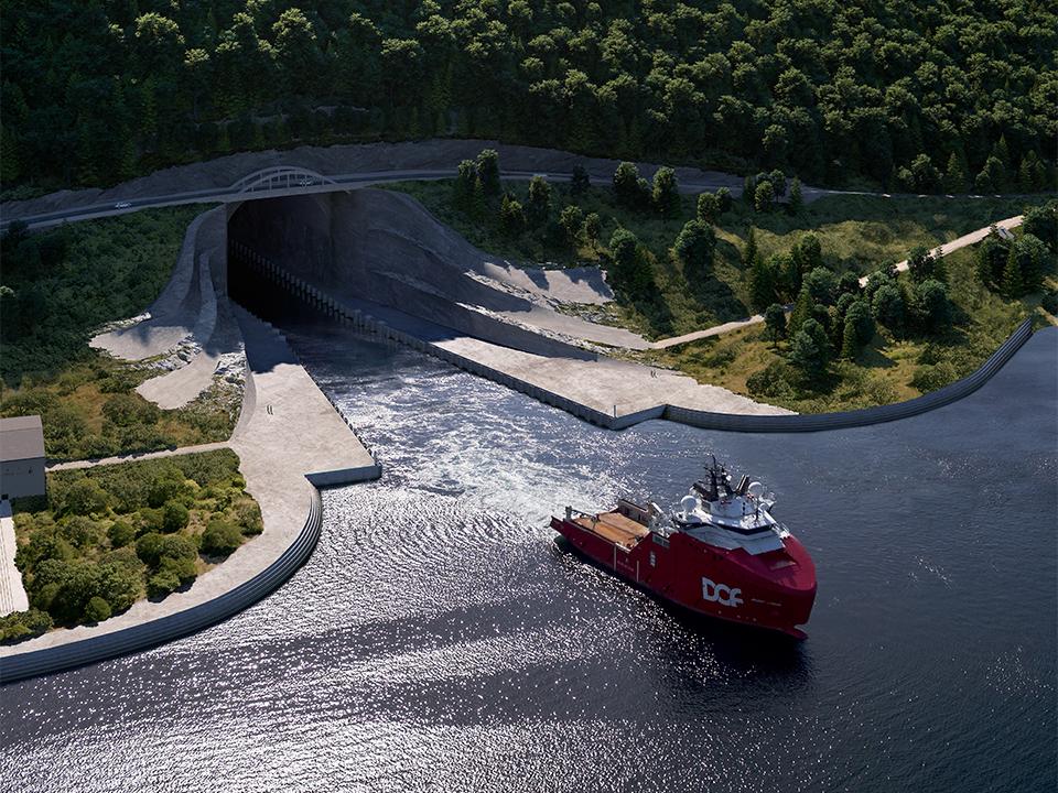 Stad Skipstunnel – Moldefjorden